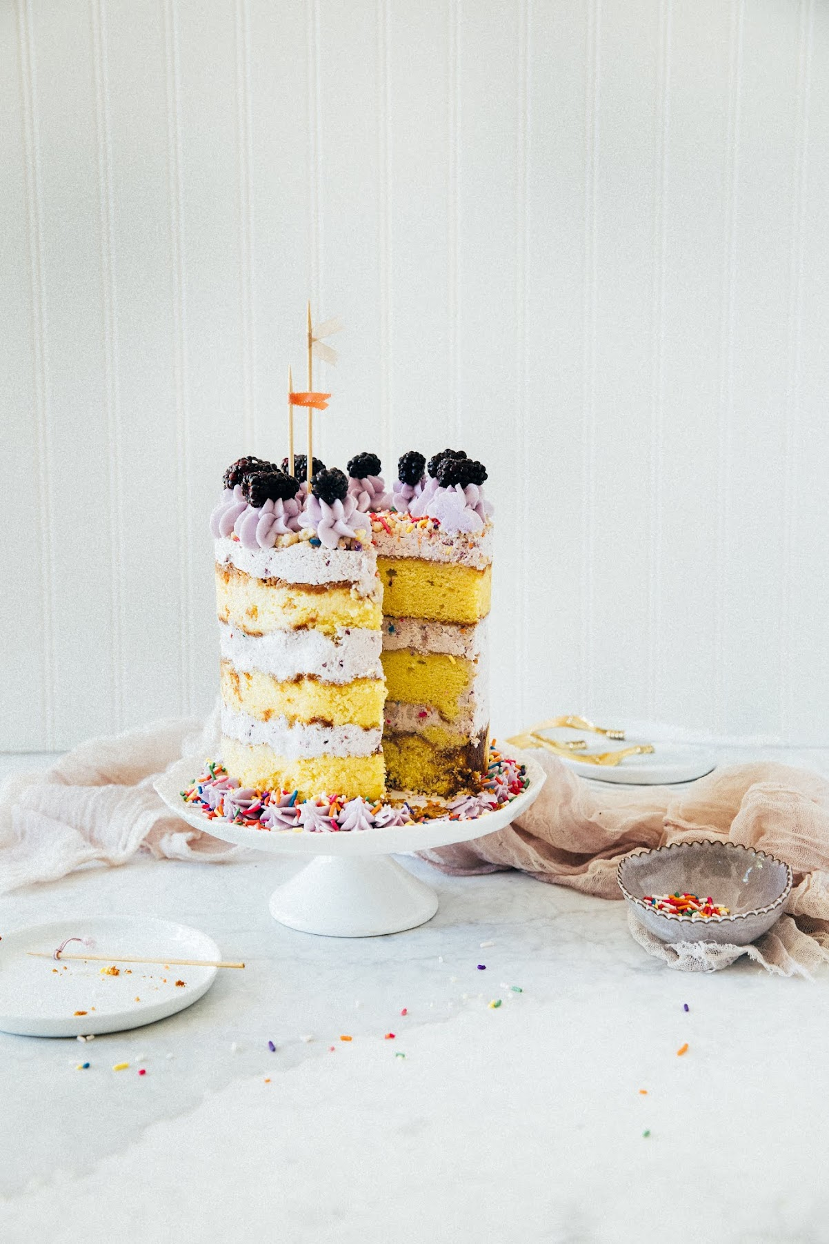 blackberry birthday cake | hummingbird high || a desserts and baking ...