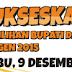 Berita Pemilu Bupati dan Wakil Bupati Sragen 2015 Terbaru