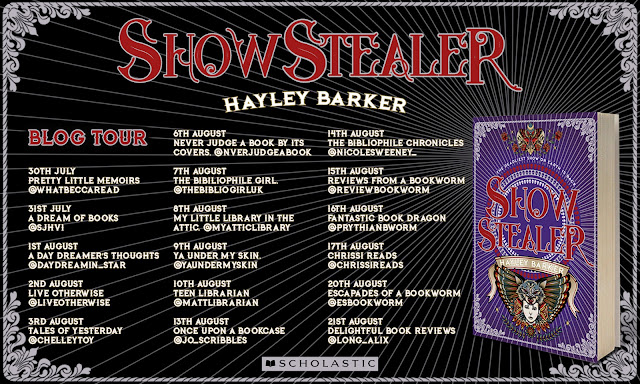 Blog Tour & Review: Show Stealer by Hayley Barker (Spoiler-Free)