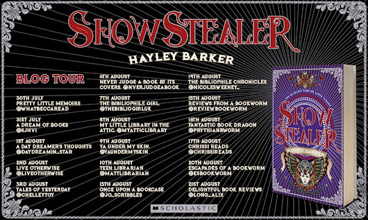 "Blog Tour & Review: ""Show Stealer"" by Hayley Barker (Spoiler-Free)"