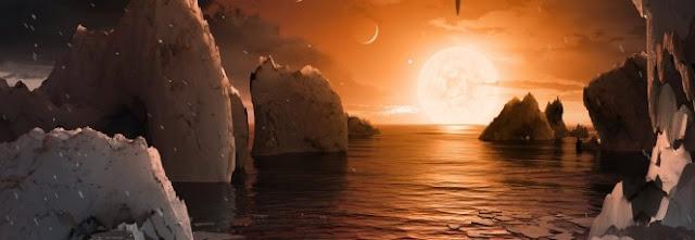 NASA descobre sete planetas como a Terra na constelação de Aquário