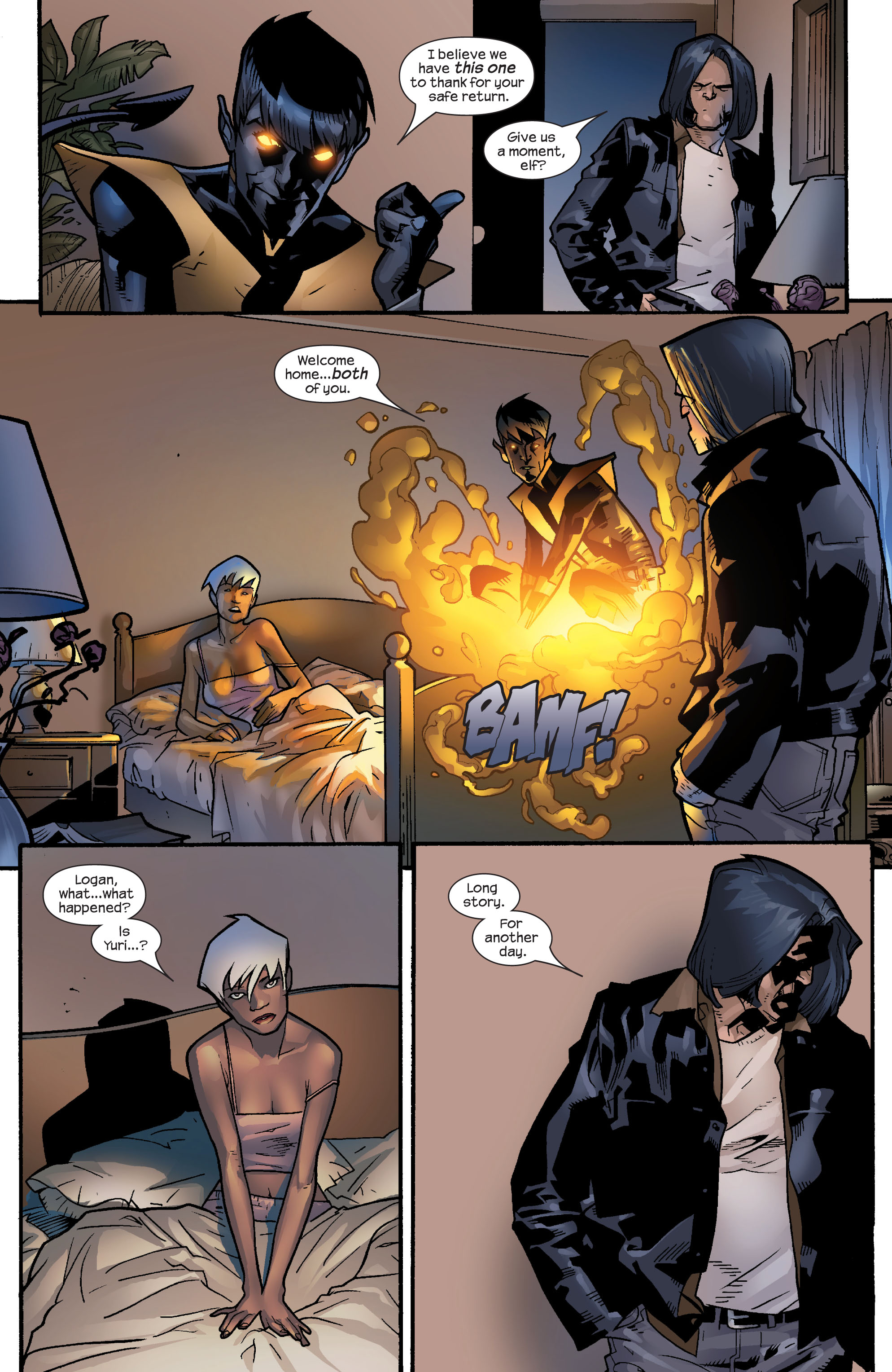 Read online Ultimate X-Men comic -  Issue #60 - 22