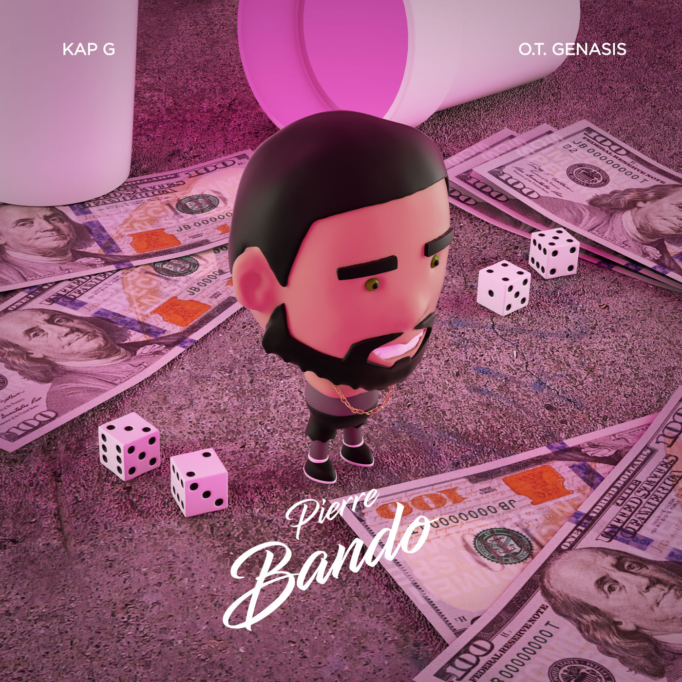 Pierre - Bando (feat. Kap G & O.T. Genasis) - Single   Cover