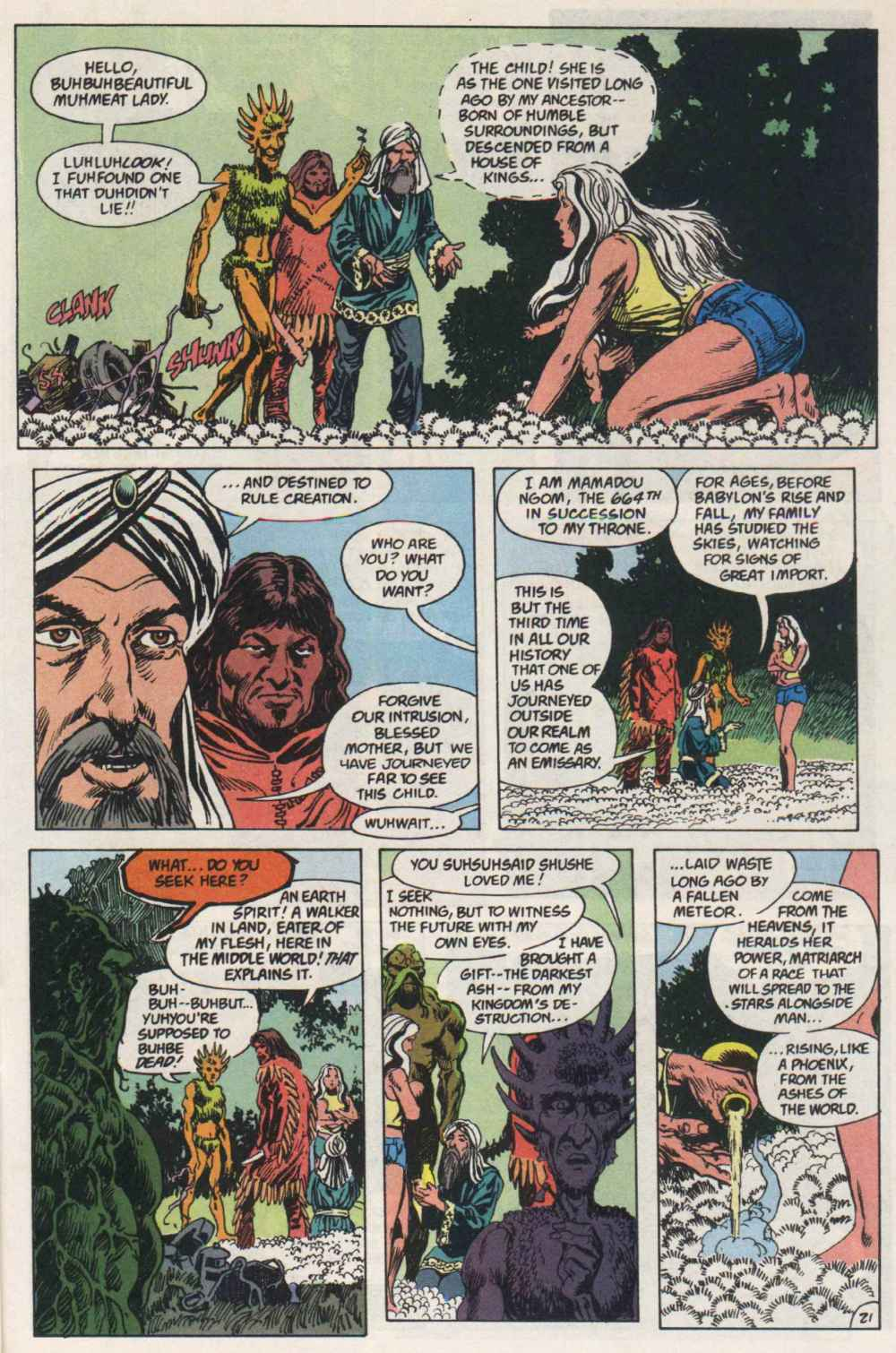 Swamp Thing (1982) Issue #91 #99 - English 20