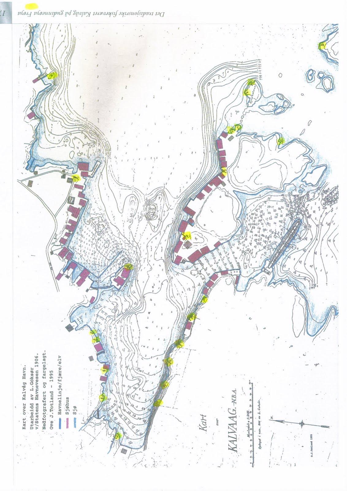 kalvåg kart KALVÅG FOTOBLOGG: februar 2010 kalvåg kart