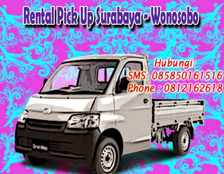 Rental Pick Up Granmax Surabaya - Wonosobo