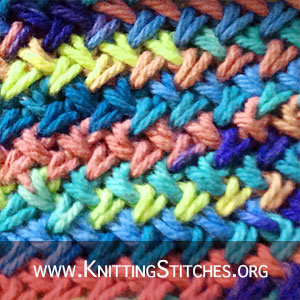Criss-Cross Stitch | Knitting Stitch Patterns. Criss cross knit stitch one skein wonders