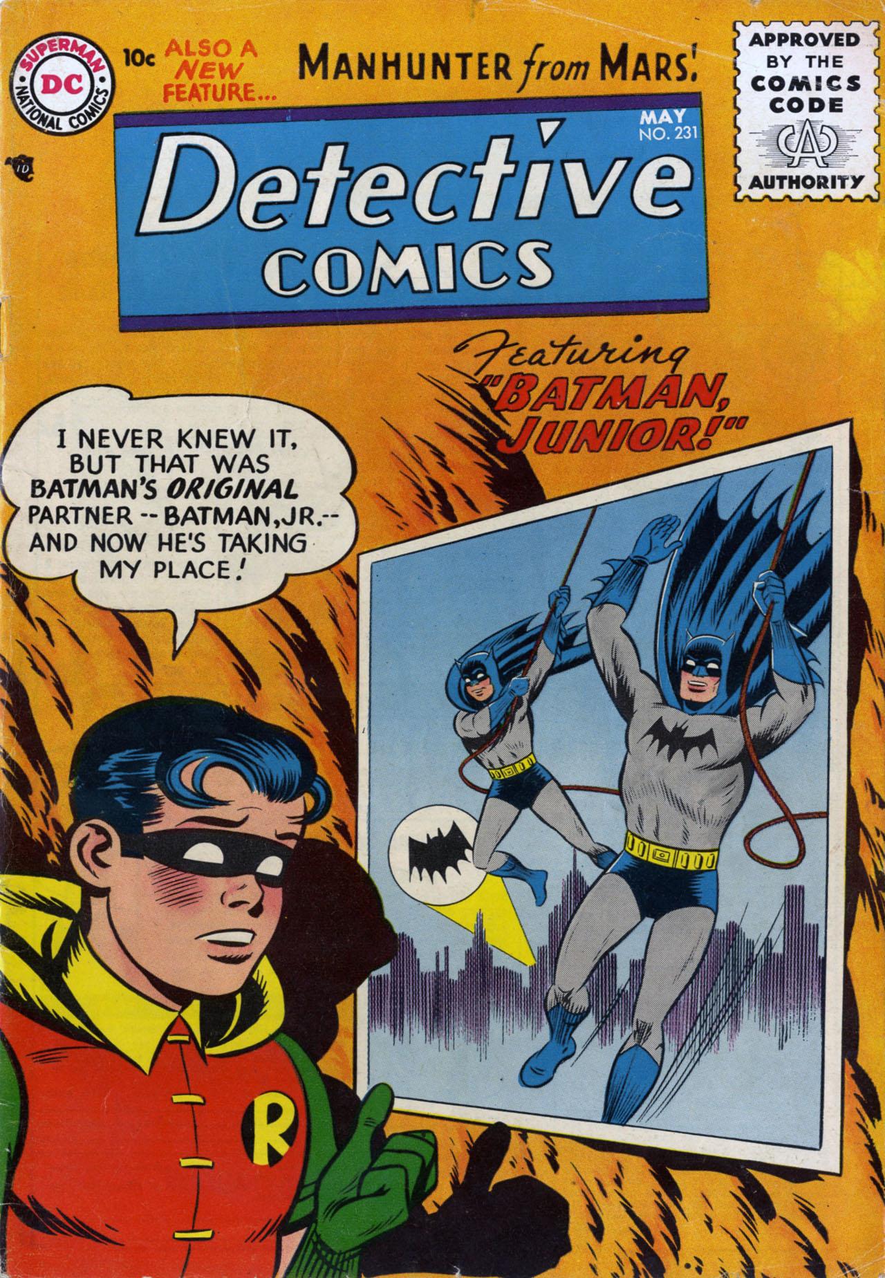 Detective Comics (1937) 231 Page 0