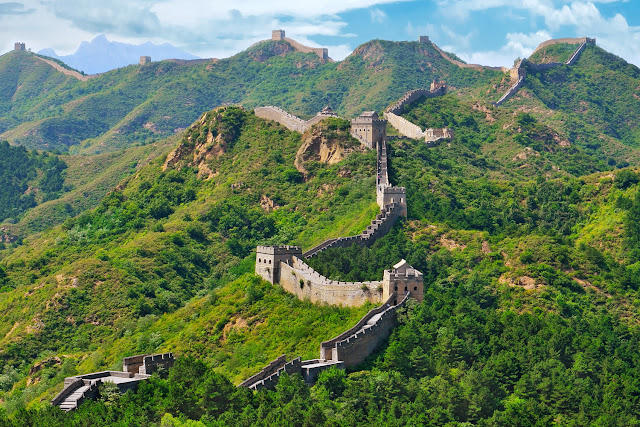 THE GREAT WALL OF CHINA BUILT FACT & HISTORY