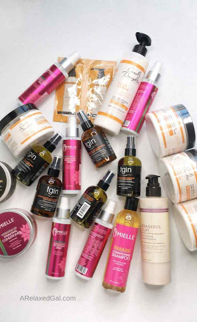 The Latest Products I Bought For My Relaxed Hair | A Relaxed Gal