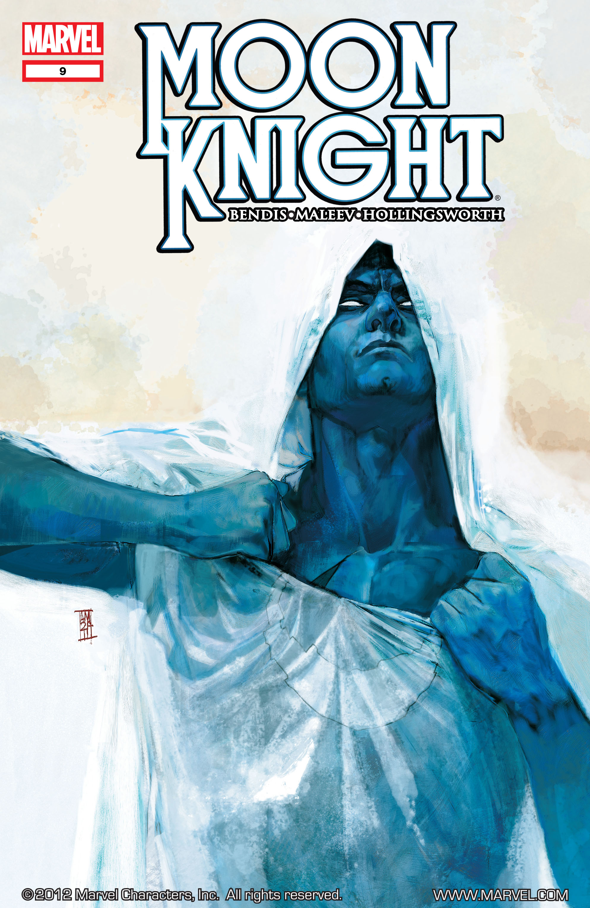 Moon Knight (2011) 9 Page 1