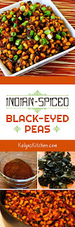 Indian-Spiced Black-Eyed Peas found on KalynsKitchen.com.