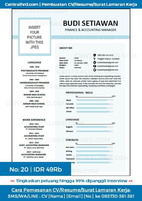 Centralhrd Com Jasa Desain Surat Lamaran Kerja Surat Lamaran