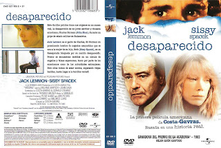 Desaparecido (Missing) » Carátula