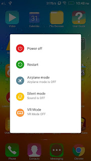 Lenovo Vibe K4 Note VR Mode