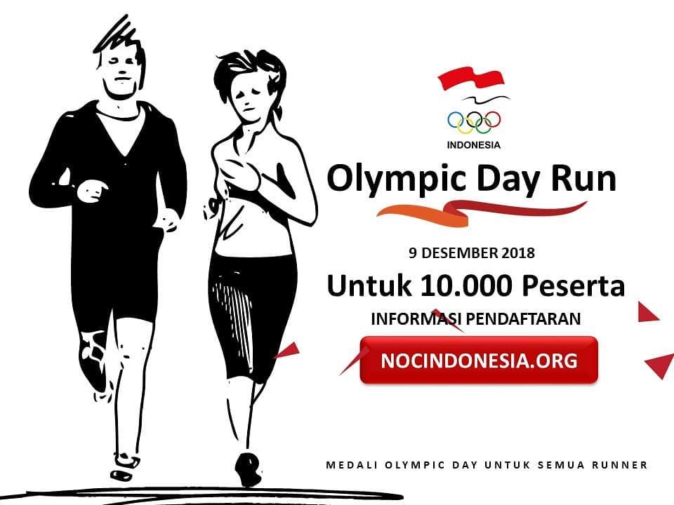 Olympic Day Run • 2018