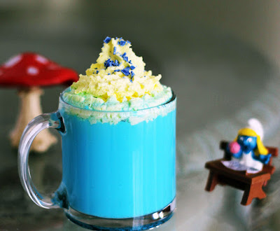 Smurf inspired drinks