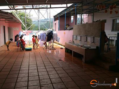 Tấm lòng nhân ái: nơi sinh hoạt của các em nhỏ ở nhóm trẻ nhân đạo