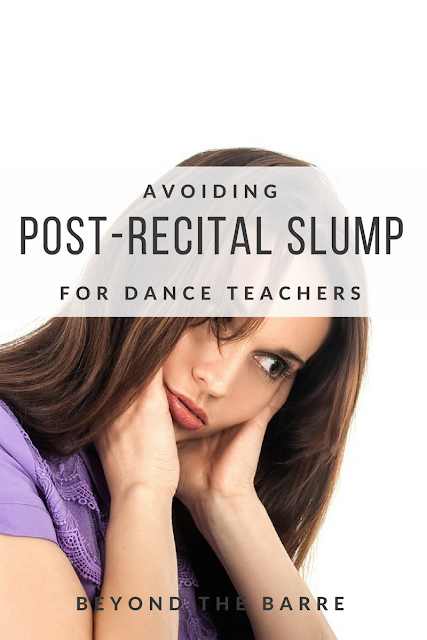 5 Tips To Get Over Post-Recital Slump