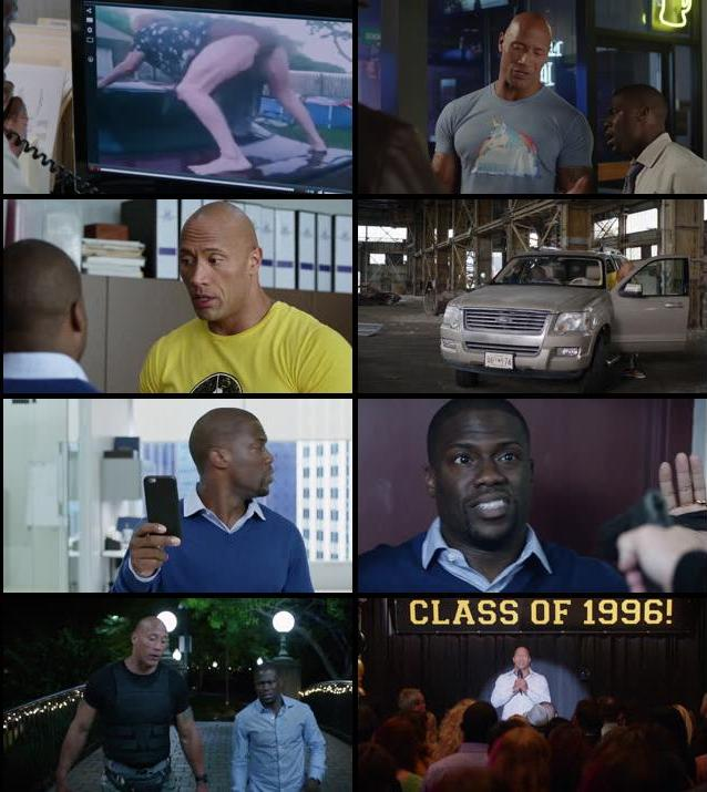 Central Intelligence 2016 Dual Audio ORG Hindi 720p BluRay