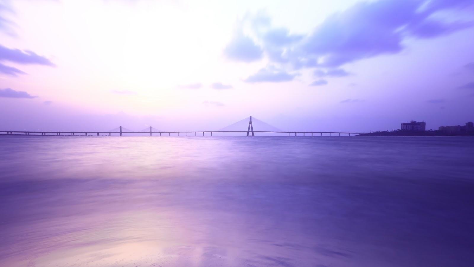 Purple Sunset Wallpaper  vel
