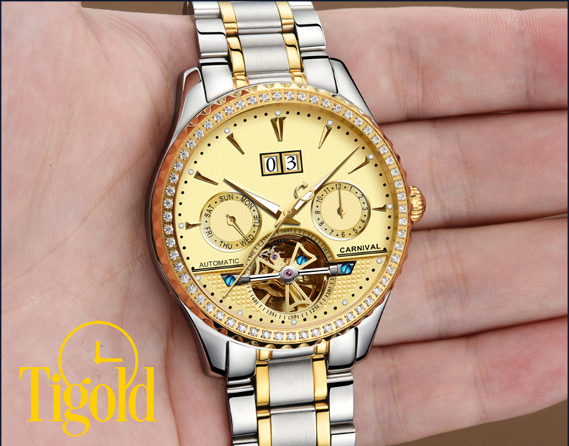 đồng hồ đeo tay nam carnival