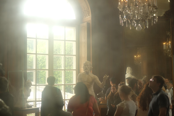 Inside Musée Rodin, Paris. Photos by Kent Johnson for Street Fashion Sydney.