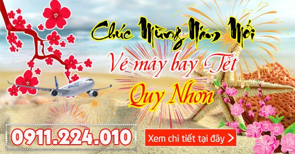 Đặt vé máy bay Tết 2018 đi Quy Nhơn
