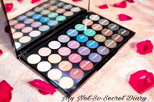 makeup revolution mermaid palette