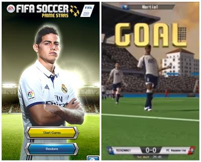 Fifa Soccer Prime Stars Full Hack terbaru