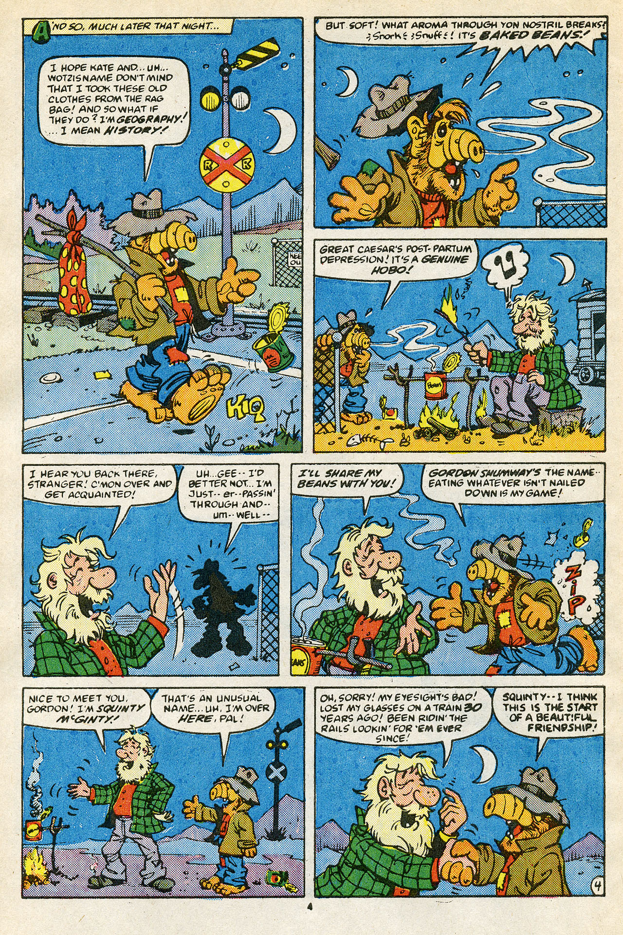 Read online ALF comic -  Issue #15 - 6