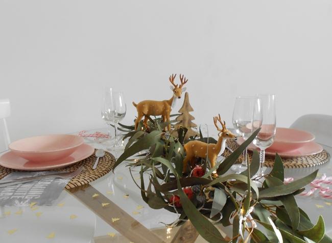 Mi mesa de Navidad