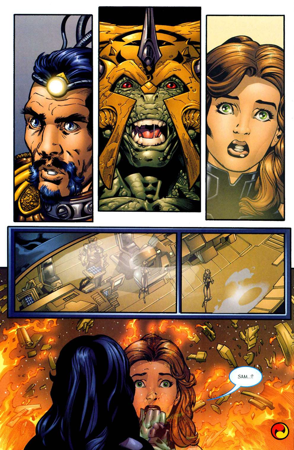 Read online Sigil (2000) comic -  Issue #13 - 22