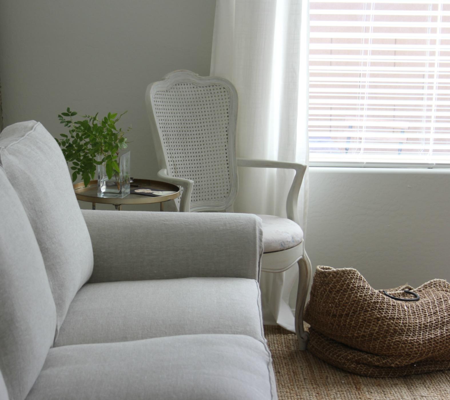 belgian linen sofa craftmaster and loveseat my ektorp sofas get a luxurious ikea hack from bemz