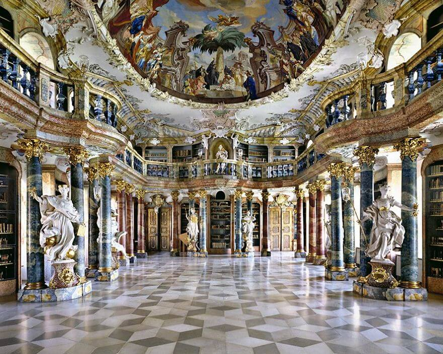 Photographer Traveled The World Searching For The Most Beautiful Libraries. What He Discovered Is Mesmerizing!