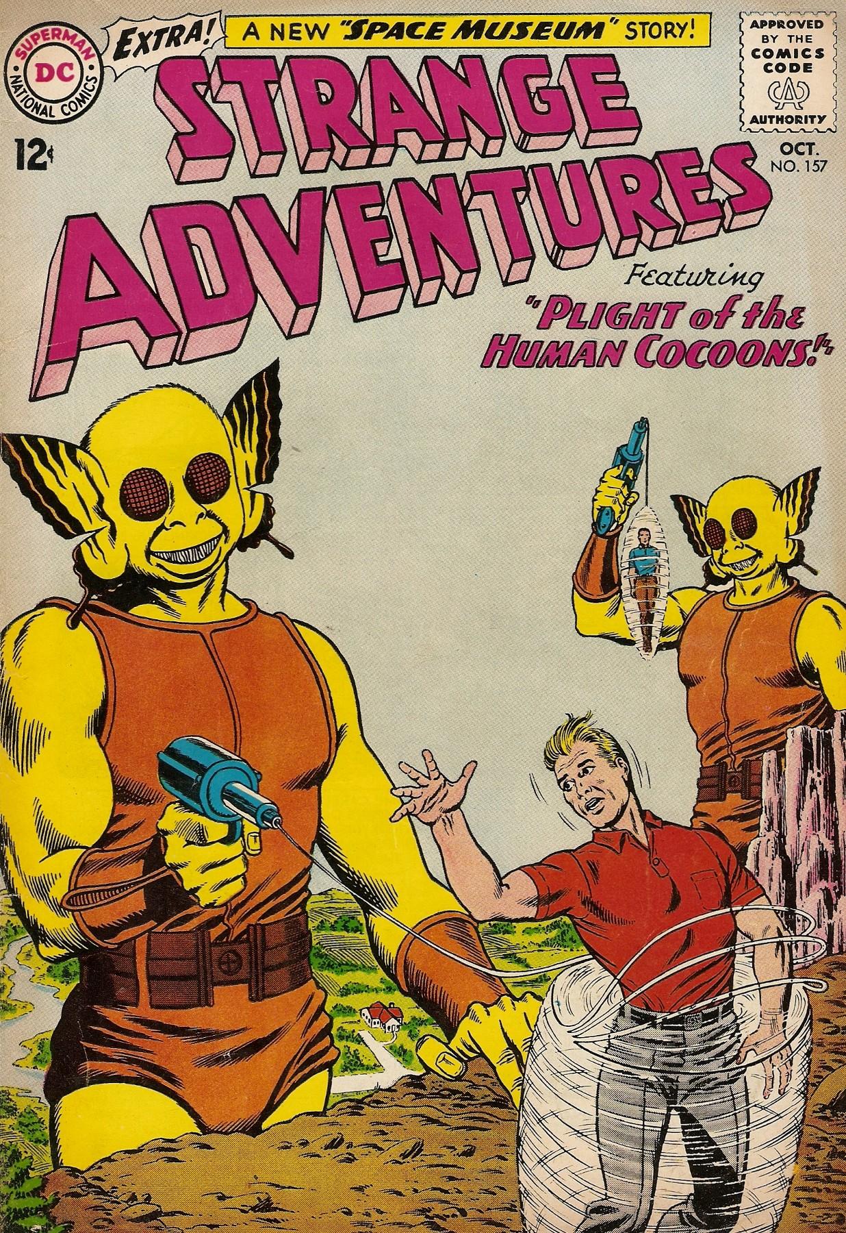 Strange Adventures (1950) issue 157 - Page 1