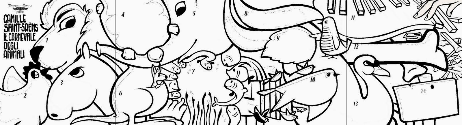 Piccoli Viaggi Musicali Il Carnevale Degli Animali 8 Finale