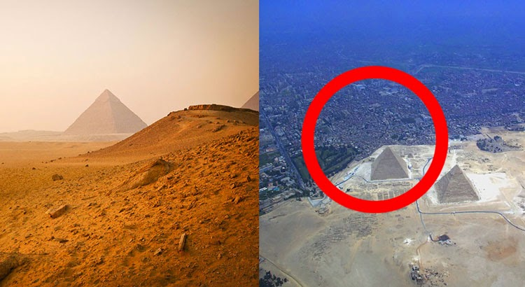 16 Of Your Favorite Landmarks Photographed WITH Their True Surroundings!