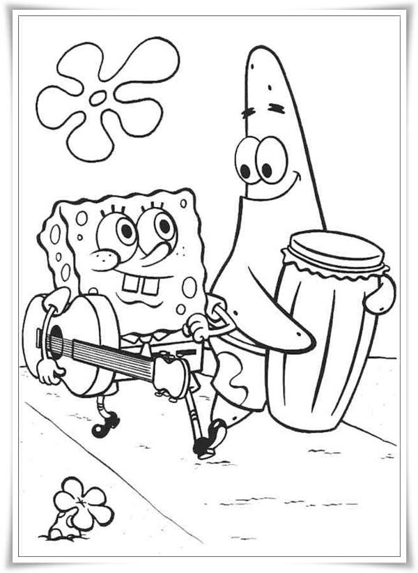 ausmalbilder zum ausdrucken: ausmalbilder spongebob