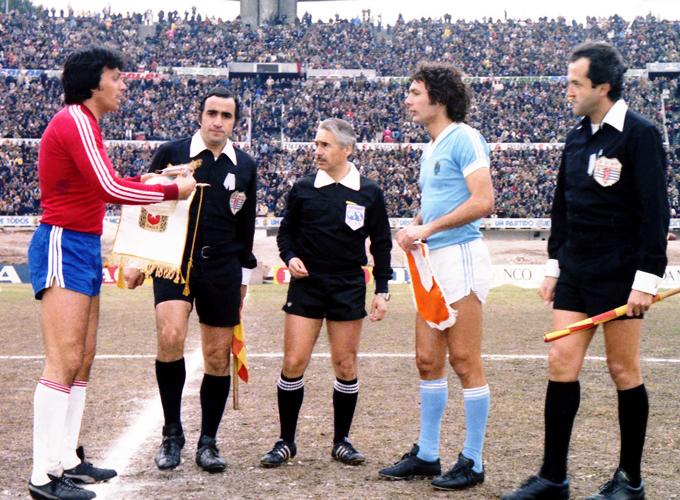 Uruguay y Chile en Copa Juan Pinto Durán 1979, partido de vuelta
