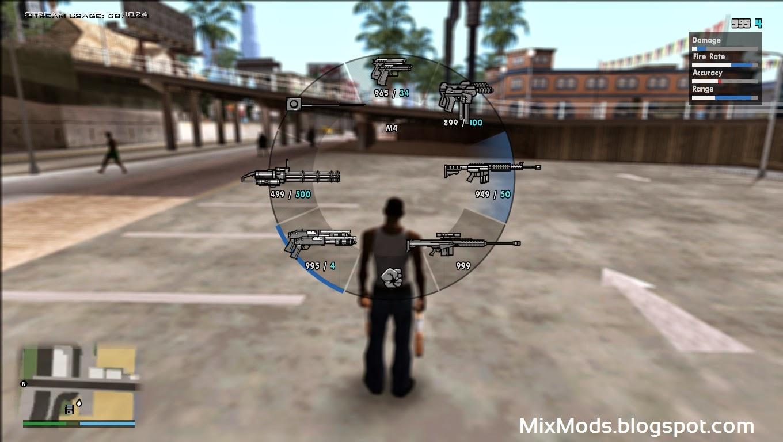 GTAGaragecom  San Andreas PC Plus 27 Trainer