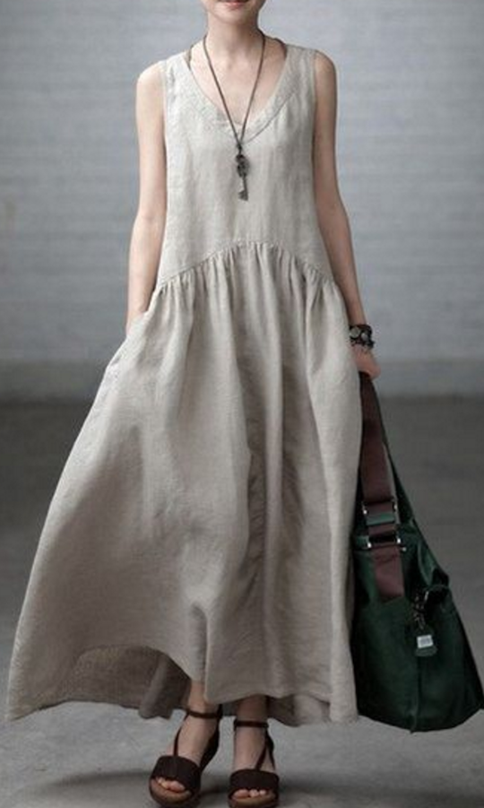 La Maison Boheme: Linen Clothing for a Hot Summer