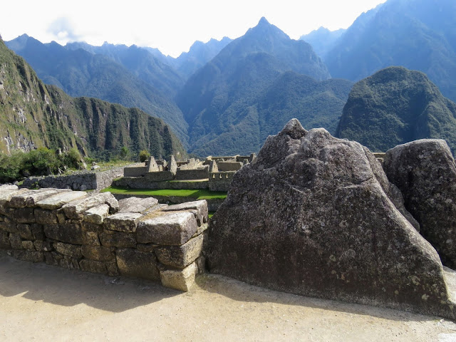 Machu Picchu images: Rock that mirrors the mountains beyond