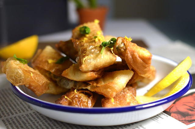 Rotllets de sardina i alfàbrega - Miss Gourmand
