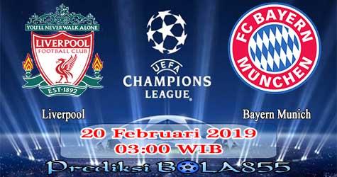 Prediksi Bola855 Liverpool vs Bayern Munich 20 Februari 2019