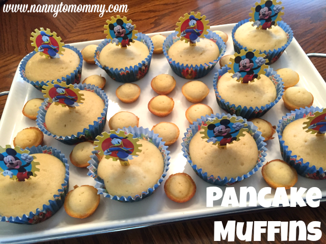 How to Make Muffins from Pancake Mix