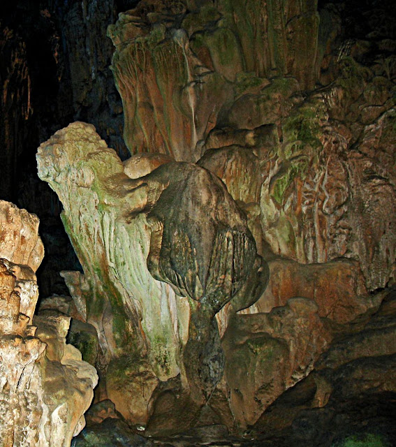 natural rock formations underground cave