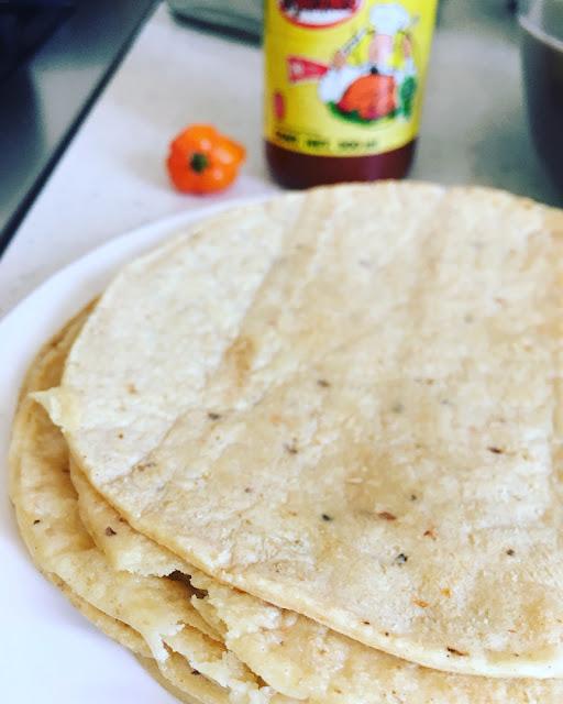 Enfrijoladas Yucatecas
