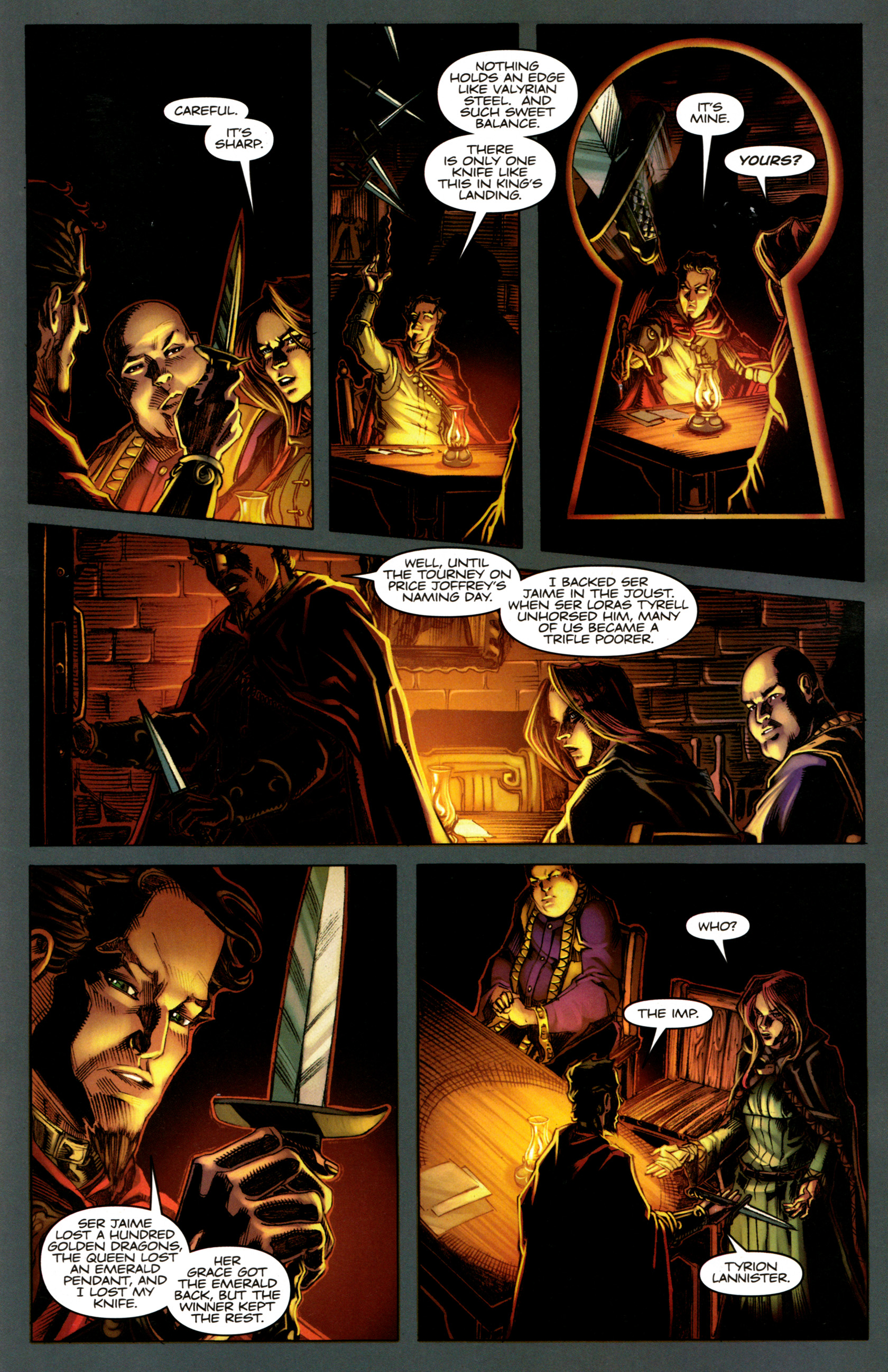 Read online A Game Of Thrones comic -  Issue #5 - 19