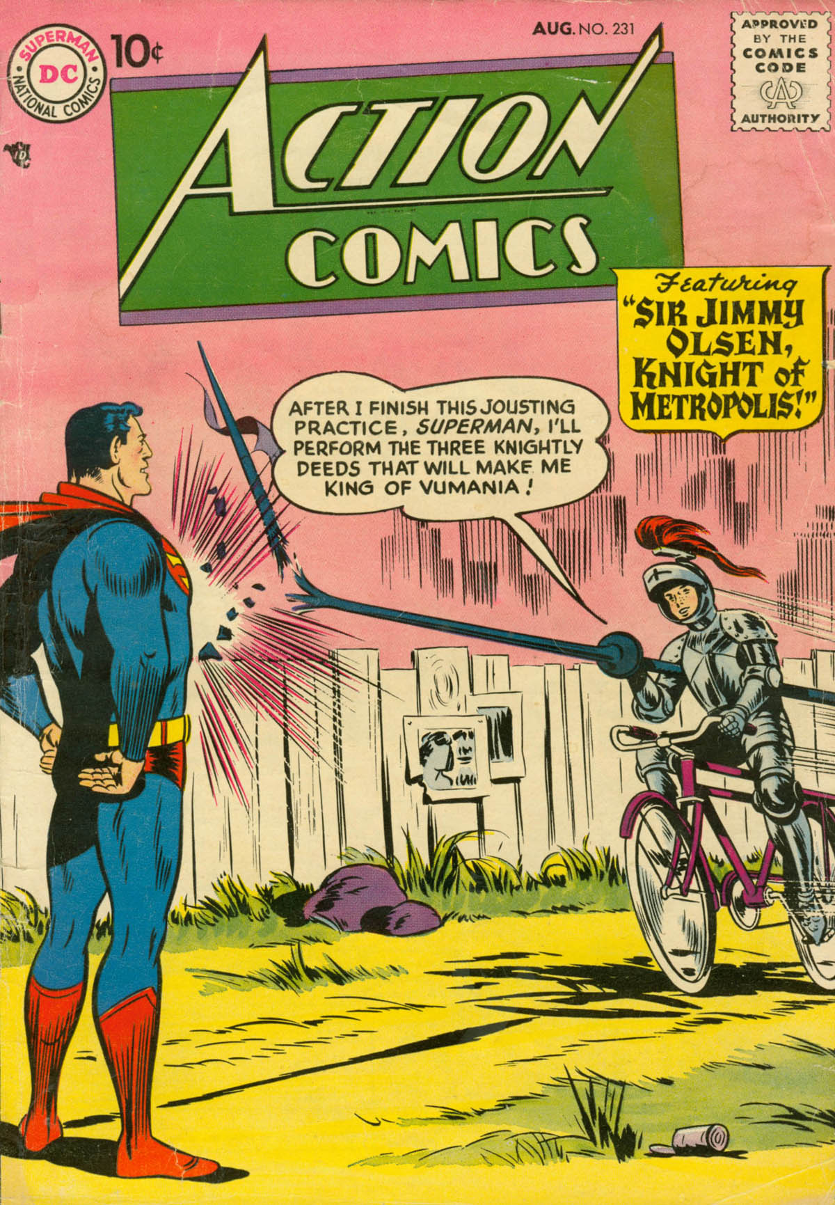 Read online Action Comics (1938) comic -  Issue #231 - 1